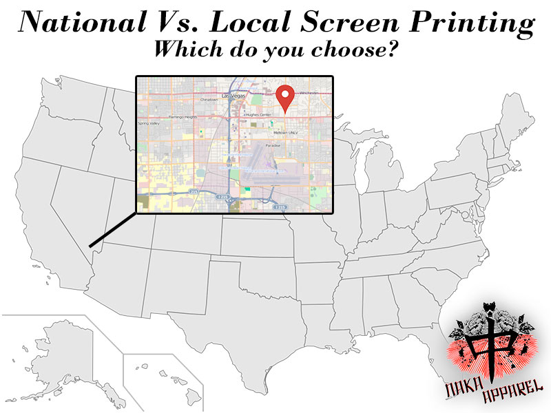 National Or Local Screen Printer