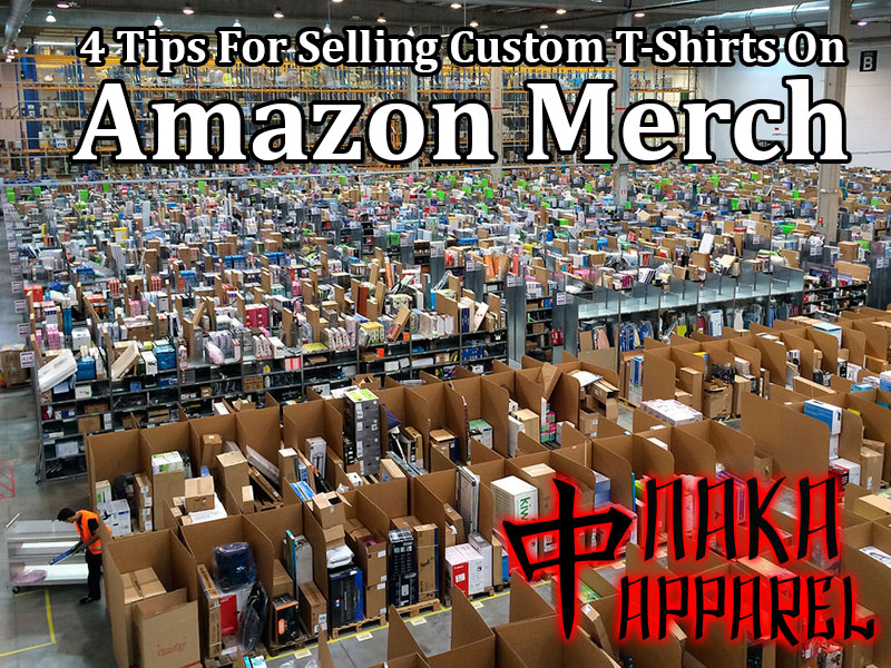 4 tips for selling custom t shirts on amazon merch